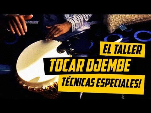 ¿COMO TOCAR EL DJEMBE? TÉCNICAS ESPECIALES+GOLPES DOBLES #ELTALLER de @Bitajon