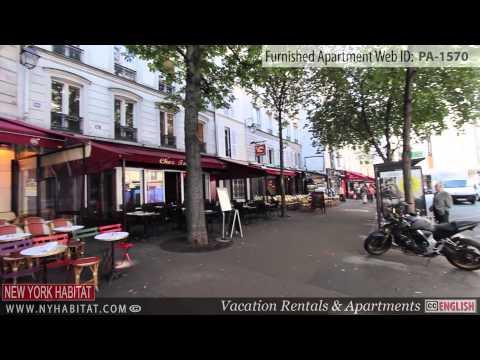 Video Tour of a Furnished Studio Apartment in Le Marais, Paris
