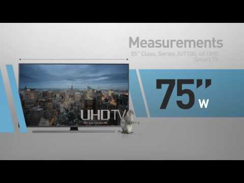 SAMSUNG UN85JU7100 ( JU7100 ) 4K UHD Smart TV // Technical Specs Review