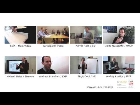 Andreas Brandner (KMA): Knowledge Management Essentials Training