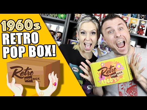 RETRO POP BOX : 1960s (November 2015 Edition) Unboxing Review