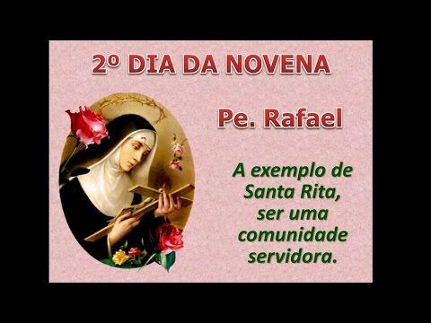 2º Dia da Novena de Santa Rita de Cássia
