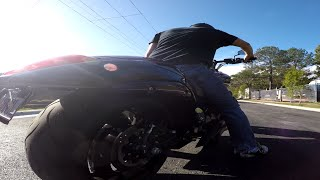 4. Stock Exhaust VS Freedom Performance Sharp Curve - Sound Test M109R