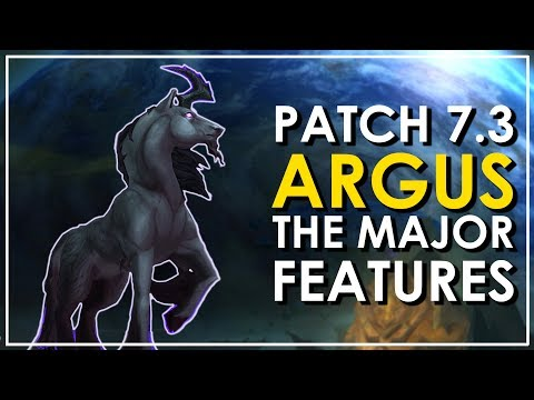 Patch 7.3: Argus - The 8 Epic New Mounts - World of Warcraft Legion (видео)