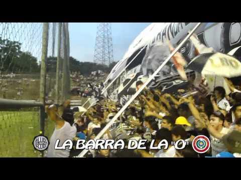 LBO 2012 / Ya llega la barra / Olimpia vs Independiente cg / Aper. 2012 - La Barra del Olimpia - Olimpia