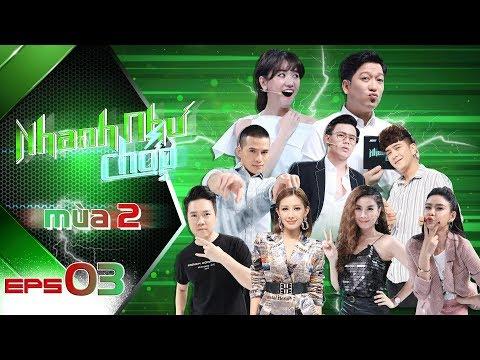 Nhanh Như Chớp Mùa 2 | Tập 03 Full HD: Trường Giang-Hari Won Vỡ Oà Khi Khaly Giành 20 Triệu Đầu TIên - Thời lượng: 49:22.