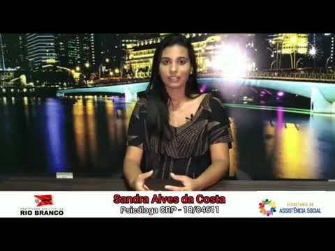 Psicóloga do CREAS Sandra (informações sobre autismo)