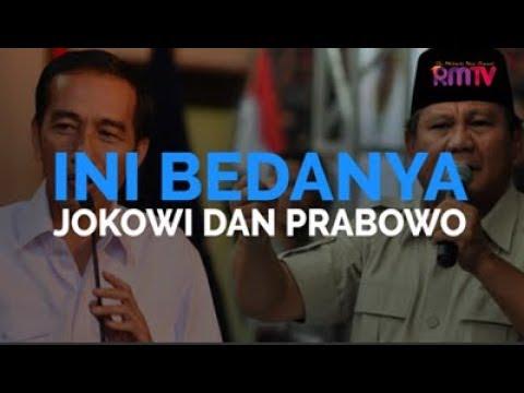 Ini Bedanya Jokowi dan Prabowo