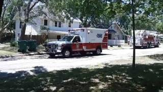 Taylor (TX) United States  City new picture : Fire trucks and ambulances in Taylor, Texas, U.S.A.