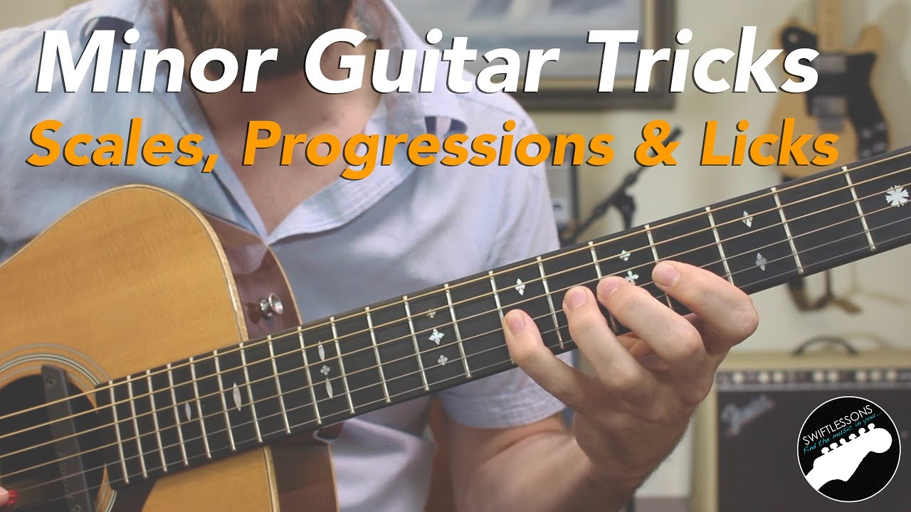 Minor Guitar Tricks – Spanish Licks, Scales & Progressions