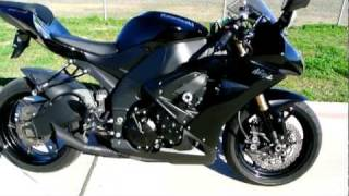 7. 2008 Kawasaki ZX10R Ninja in Metallic Diablo Black
