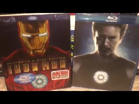 Iron Man (2008) Blu-Ray Review