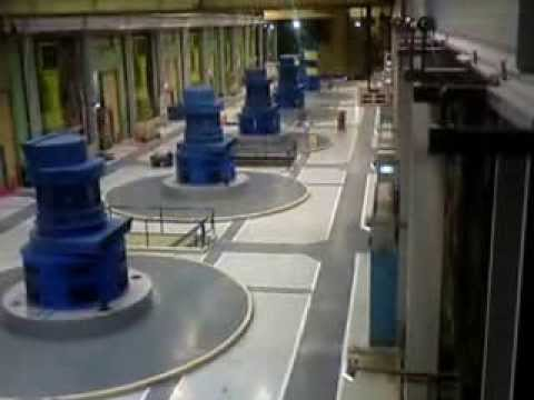 Manapouri Underground Hydroelectric Power Station Tour. Part 1.