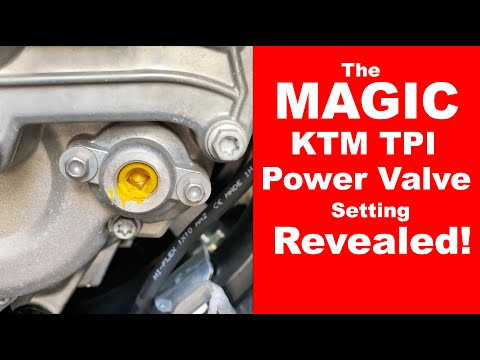 The MAGIC KTM TPI Power Valve Adjustment | Top Tip!