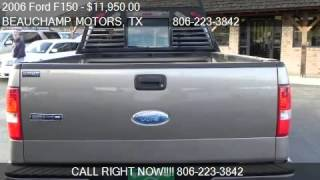 2006 Ford F150 XLT for sale in AMARILLO, TX 79110 at BEAUCHA