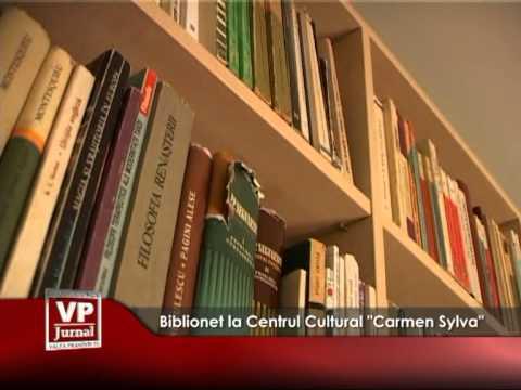 """Biblionet la Centrul Cultural """"Carmen Sylva"""""""