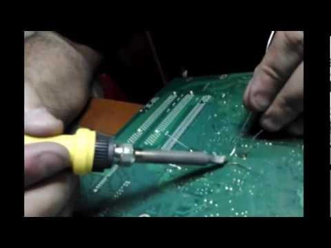 video aula manutenção de placa mãe