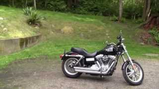 4. Dyna Super Glide, Before and After Vance & Hines Upgrade