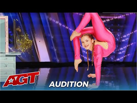 Emerald Gordon Wulf: Teen Contortionist With Most FLEXIBLE Body Ever!
