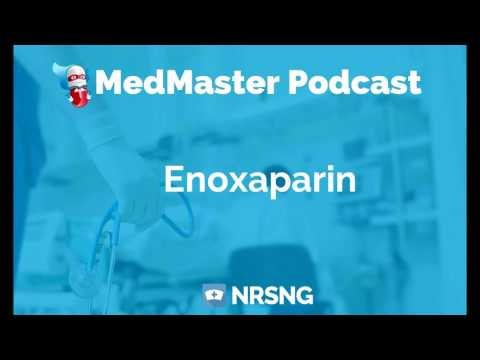 Enoxaparin Nursing Considerations, Side Effects, and Mechanism of Action Pharmacology for Nurses