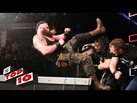 Video Top 10 Raw moments: WWE Top 10, October 9, 2017 download in MP3, 3GP, MP4, WEBM, AVI, FLV January 2017