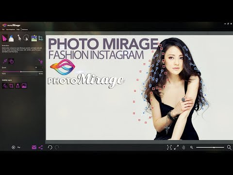 Photo Mirage Photo Animation For Fashion Model in Instagram
