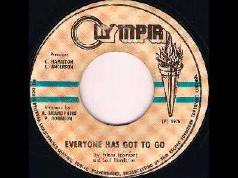 Prince Robinson - Everyone Has Got To Go + VERSION [1976]
