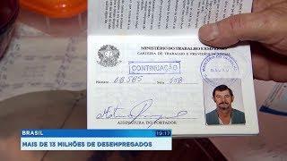 Dia do Trabalhador: Brasil tem quase 13 milhões de desempregados