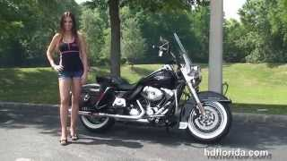 1. Used 2011 Harley Davidson Road King Classic Motorcycles for sale - Daytona Beach, FL