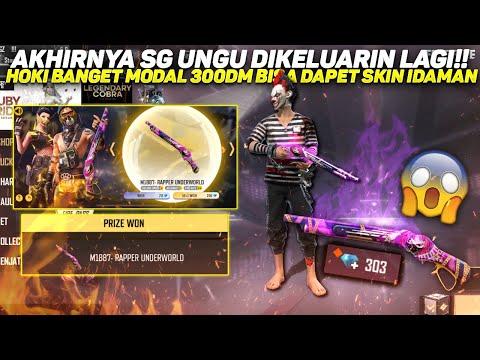 AKHIRNYA SKIN SG 2 UNGU DIKELUARIN LAGI!! HOKI BANGET MODAL 300DM BISA DAPET SKIN IDAMAN