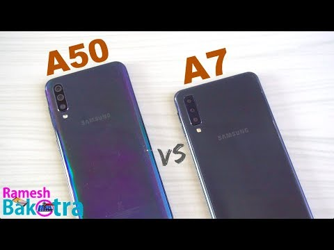 Samsung Galaxy A50 vs Galaxy A7 2018 SpeedTest and Camera Comparison - Thời lượng: 6 phút, 15 giây.