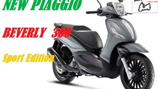5. NEW PIAGGIO BEVERLY 300 S - New colours - sport edition