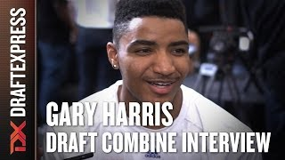 Gary Harris Draft Combine Interview