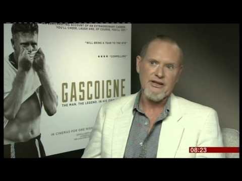 Paul Gascoigne interview 2015