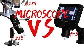 Video Microscopes for SMD Soldering || $15 VS $45 VS $189 MP3, 3GP, MP4, WEBM, AVI, FLV September 2019