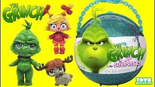 Video Dr. Suess THE GRINCH LOL Surprise Customs Help Rescue Cindy Lou & Max the Dog Toys MP3, 3GP, MP4, WEBM, AVI, FLV Januari 2019