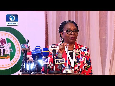 Ibukun Awosika Gets Standing Ovation From Governors After Motivational Speech
