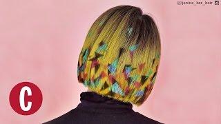 Unreal Hair Stencils | Cosmopolitan by Cosmopolitan
