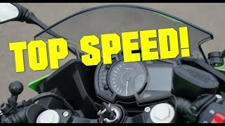8. 2018 Kawasaki Ninja 400 TOP SPEED