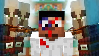 Super Easy ILLAGER Battle and Epic Themed Build :: Minecraft 1.14 Building with BdoubleO