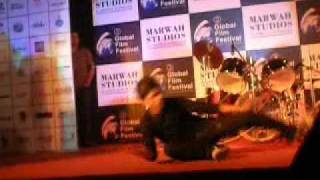 Abhimanyu Performing Guzaarish At Global Film Festival-2010