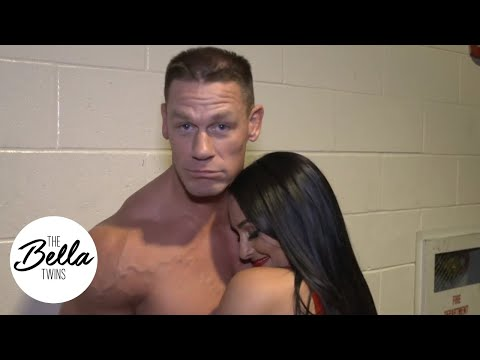 You Can't See Us! John Cena And Nikki Team Up Against Elias And Sonya Deville In The Big Apple!