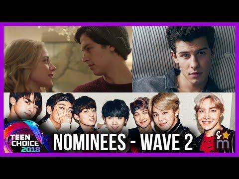 2018 Teen Choice Award Nominees - Bughead, BTS, Malec, Dolan Twins, Etc (Wave 2)