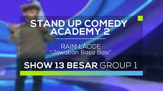 Video Raim Laode - Jawaban Basa Basi (SUCA 2 - 13 Besar Group 1) MP3, 3GP, MP4, WEBM, AVI, FLV Desember 2017