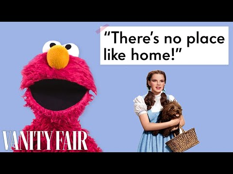 The Cast Of Sesame Street Reads Famous Movie Quotes | Vanity Fair