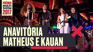 image of True Colors + Fica + Te Assumi Para O Brasil | Anavitória + Matheus e Kauan | Prêmio Multishow 2017