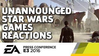 EA Unannounced Star Wars Games Reactions - E3 2016 GameSpot Post Show by GameSpot