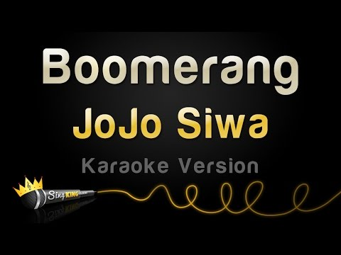 JoJo Siwa - Boomerang (Karaoke Version) Mp3