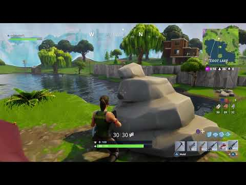 Fortnite Battle Royale - My Very First Win!!! PS4 Pro Gameplay