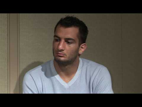Gegard Mousasi Prefight Interview at DREAM15
